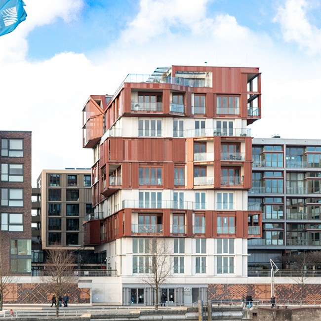 Hafencity Solitär / Philippe Starck Haus